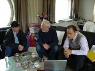 Freddy Met Mr. Li en Martin Martens