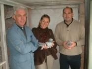 Mr. Carlo Gyselbrecht met  Mevr. & Dr. Brockamp